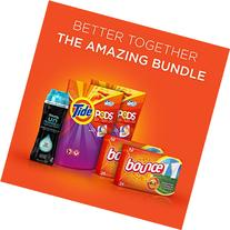 Tide Amazing Laundry Bundle : Tide PODS, Bounce Sheets and