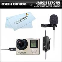 Professional lavalier  omni directional condenser microphone