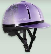 Troxel Lavender Antiquus Legacy Riding Helmet Large