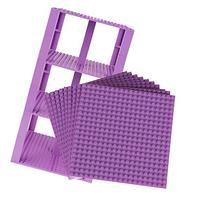 """Premium Lavender Stackable Base Plates - 10 Pack 6"""" x 6"""""""