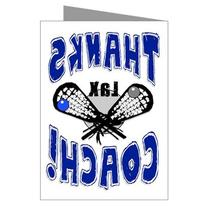 """LAX 3-PACK """"Thanks Awesome LACROSSE Coach!"""" SPORTS POWERCARD"""