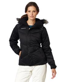 Columbia Women's Lay 'D' Down Jacket, Black, Large