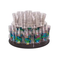 Lazy Susan Cup Display. Store and serve cups from an