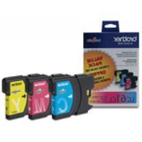 BRTLC613PKS - Brother Color Ink Cartridges