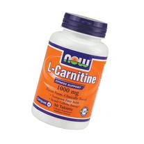 Now Foods L-Carnitine 1000 mg - 50 Tabs 6 Pack