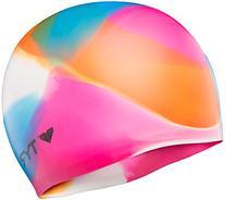 TYR Kaleidoscope Swim Cap, Multicolor
