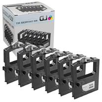 LD © Okidata Compatible Replacement 6 Pack Black Printer