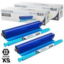 Compatible Replacement Panasonic KX-FA93 2PK Black Fax
