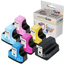 LD Remanufactured Replacements for HP 02 6PK Cartridges: 1