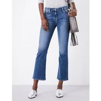 Frame Le Crop Mini Boot bootcut mid-rise jeans