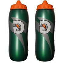 Set of 2 Gatorade Leakproof Green Orange Sport Squeeze Water