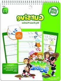 LeapFrog LeapSchool Cursive Dry Erase Practice Workbook for