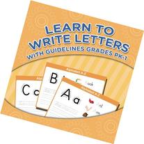 Learn To Write Letters With Guidelines Grades Pk-1