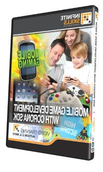 Learning Mobile Game Development With Corona SDK - Training DVD