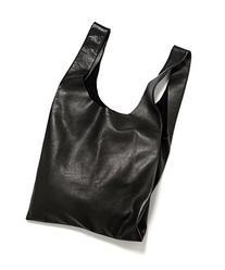 BAGGU Leather BAGGU Bag - Black