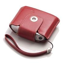 TomTom Leather Carry Case and Strap for TomTom One v2