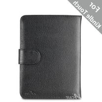 Acase Leather Case for Kindle PaperWhite and Kindle Touch Wi