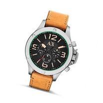 Armani Exchange Leather Chronograph Mens Watch AX1516