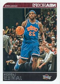 Lebron James 2014 2015 Hoops NBA Basketball Series Mint Card