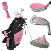 Golf Girl LEFTY Junior Club Set for Kids Ages 4-7 w/Pink