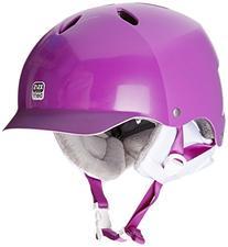 Bern Lenox EPS Thin Shell Visor Helmet - Women's Satin