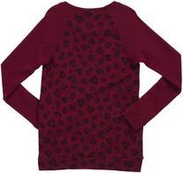 Splendid Leopard L/S Sweatshirt - Raspberry-12