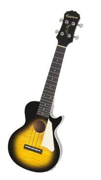 Epiphone Les Paul Acoustic/Electric Ukulele Outfit, Vintage