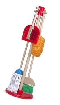 Melissa and Doug Let's Play House! Dust, Sweep & Mop