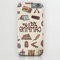 Lets Go Camping iPhone 6s Case