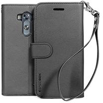 LG G3 Case,   Premium PU Leather Wallet Case with  Card