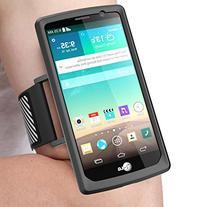 LG G4 Armband, SUPCASE Easy Fitting Sport Running Armband