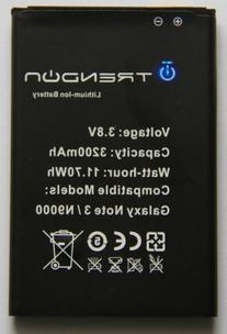 Noot 3200mAh Li-ion Battery for Samsung Galaxy NOTE 3 III,