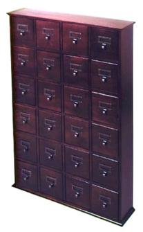 Library Style CD Storage Cabinet