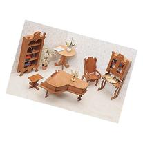 Greenleaf Bedroom Furniture Kit Set - 1 Inch Scale