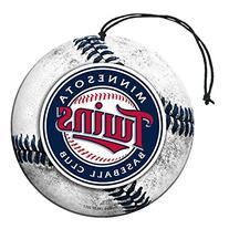 Licensed MLB Minnesota Twins Nu-Car Scent Baseball Shape W/