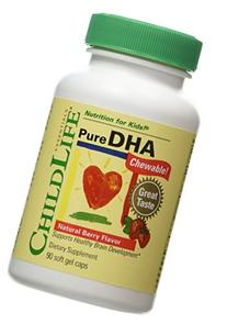 Child Life Pure DHA 90 Soft Gel Capsules, Pack of 2
