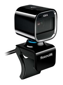 Microsoft LifeCam HD-6000 720p HD Webcam for Notebooks -