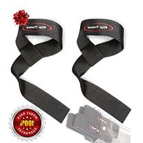 Rip Toned Cotton Padded Lifting Wrist Straps  with Ebook -