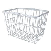Sunlite Standard Wire Lift-Off Basket w/ Bracket, White