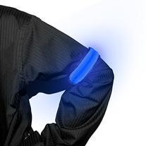 LED Light Up Armbands-Blue