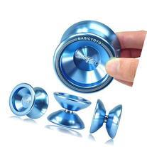 NEW Light Blue Magic YoYo T5 Overlord Aluminum Kid's Toy Yo