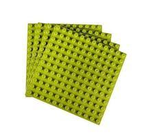 "Strictly Briks Premium Light Green 7.5"" X 7.5"" Large Size"