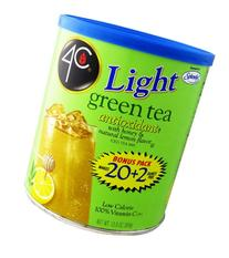 4C Light Powdered Ice Tea Mix with Splenda 13.9oz - Makes 22