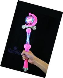Light Up Princess Wand - Sound & LED - Colors May Vary