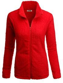 Doublju Womens Comfortable Lightweight Long Sleeve Big Size