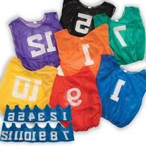 Adult Lightweight Numbered Scrimmage Vest