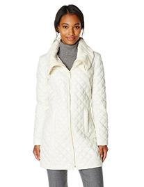 Via Spiga Women's Lightweight Quilted Jacket with Knit