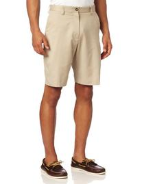 Izod Lightweight Solid Flat Front Shorts