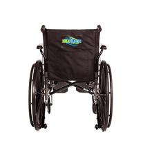 Lightweight Folding Wheelchair Detachable Full Arm and