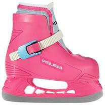 Bauer LIL Angel Champ Skates, Pink, 10-11